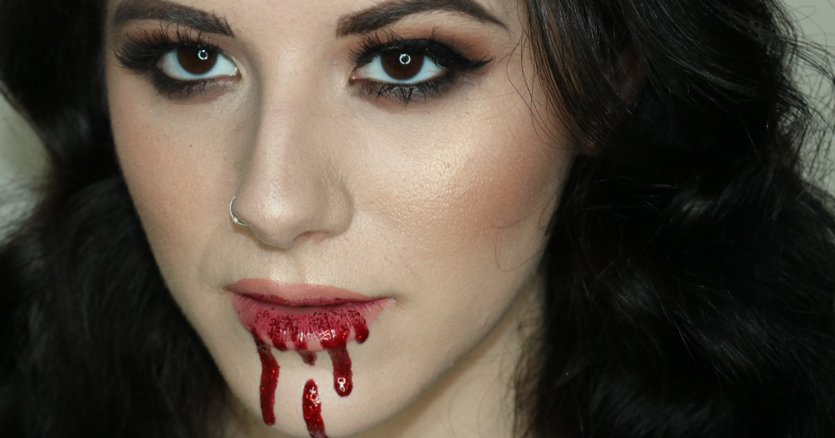 How To Make Fake Blood With Makeup