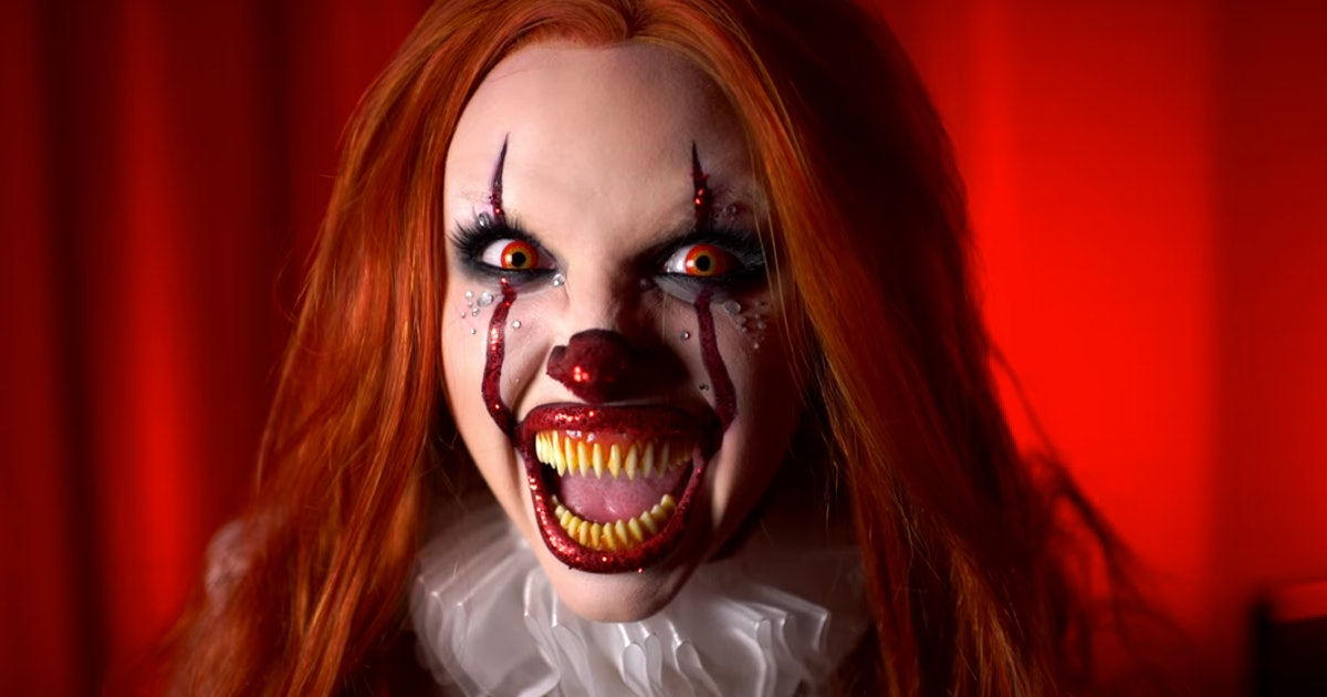 Pennywise Makeup Glam