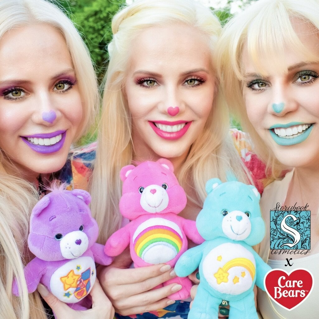 A Storybook Cosmetics X Care Bears Makeup Collection Is Happening Here S What We Know