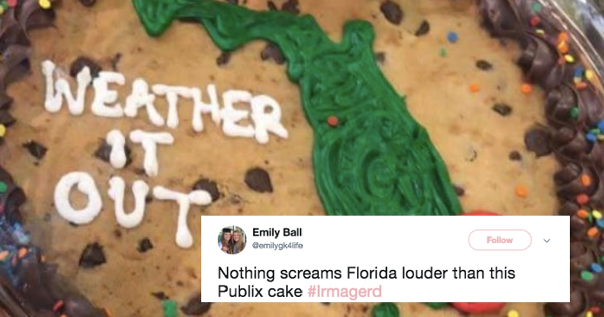 Hurricane Irma Cakes At Publix In Florida Have Residents Divided In