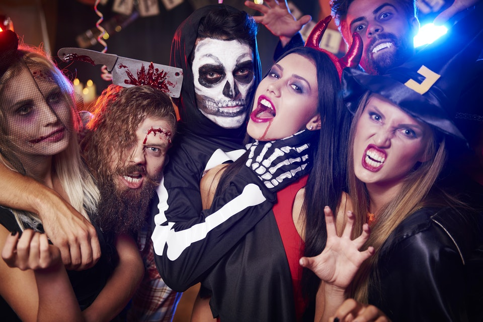 10 Actually Fun Games For Adult Halloween Parties