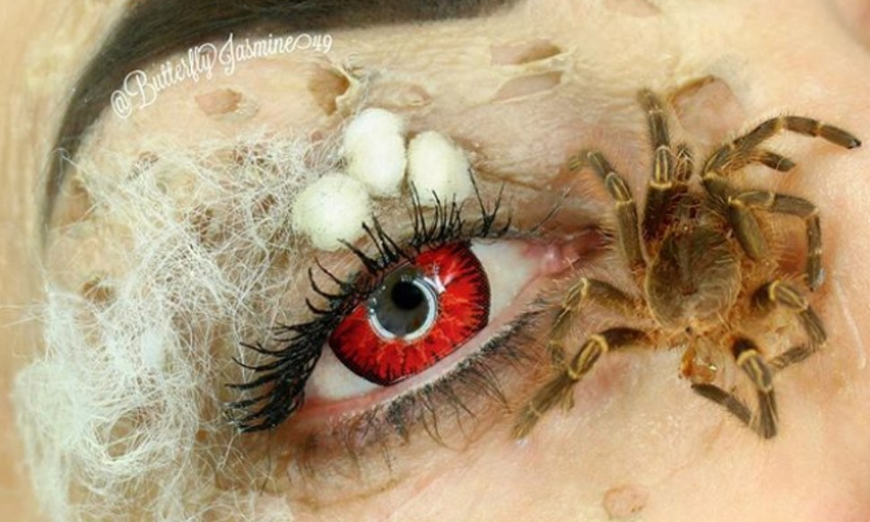 This Makeup Artist Uses Real Bugs In Her Beauty Looks Its Hard To