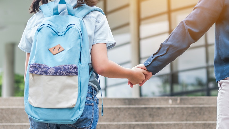 Backpack Safety with kids