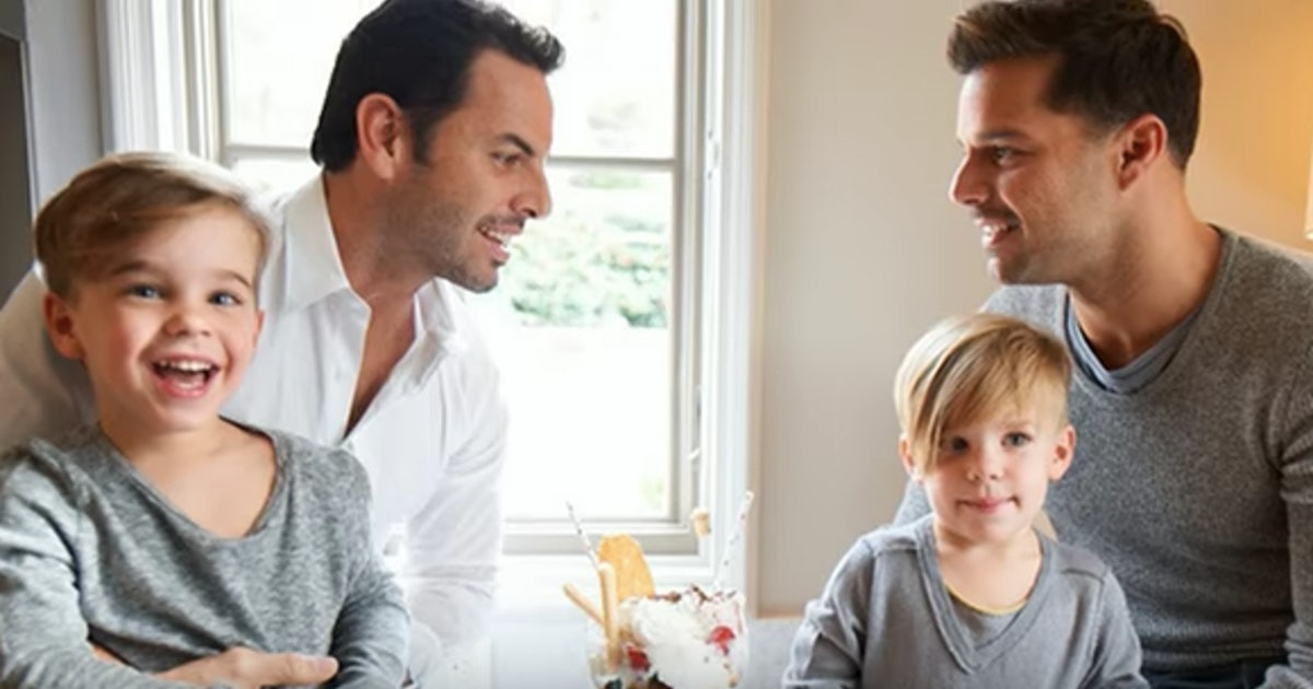 Ricky Martin Tells His Twins Why They Have 2 Daddies