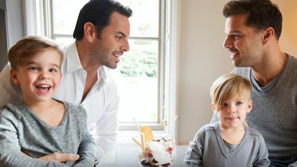 Ricky Martin a jeho krásna gay rodina