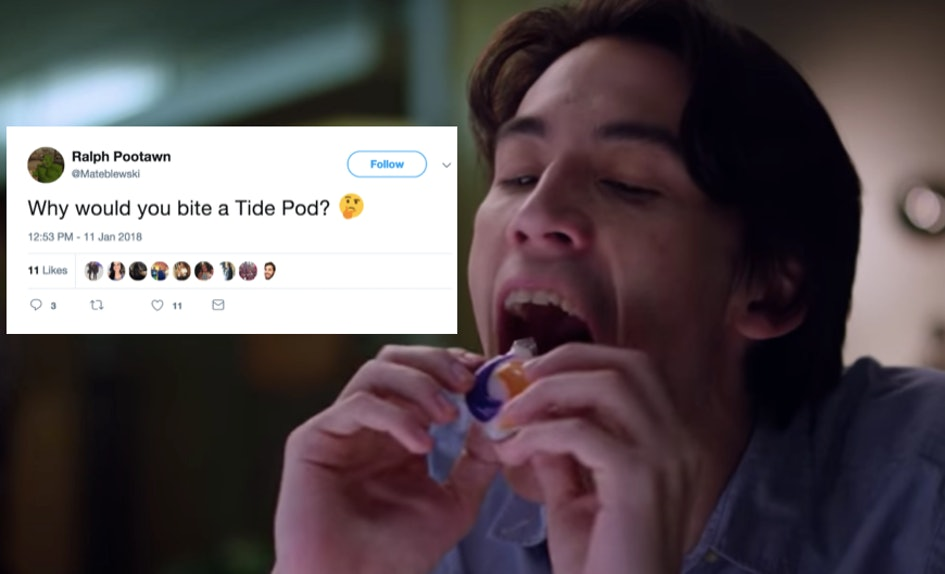 These Memes About Quot Eating Quot Tide Pods Prove 2018 Is Already