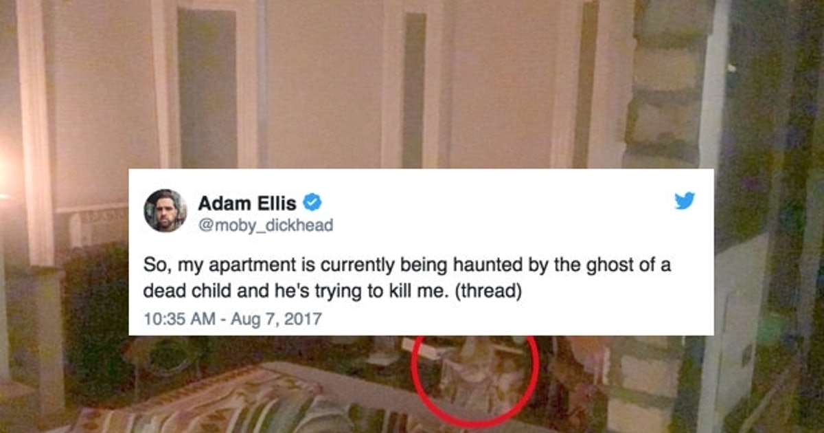 3785aca9dfc847 Here Is Everything Writer Adam Ellis Has Tweeted About His Haunted  Apartment