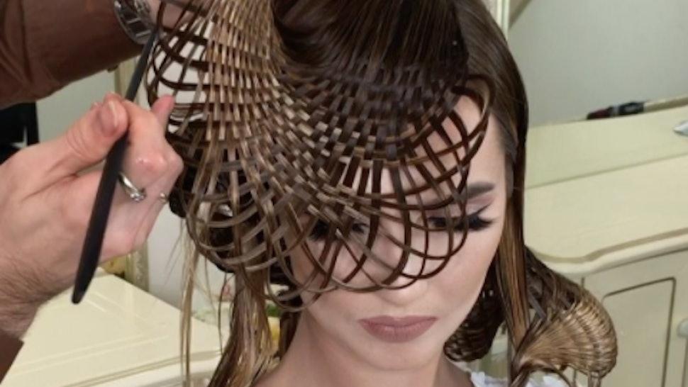 Russian Hair Artist Georgy Kot\'s Hair Weaving Videos Are ...