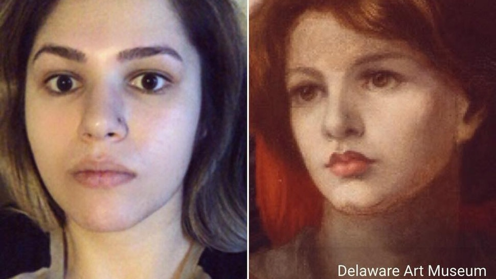 how to find your painting lookalike with the google arts culture