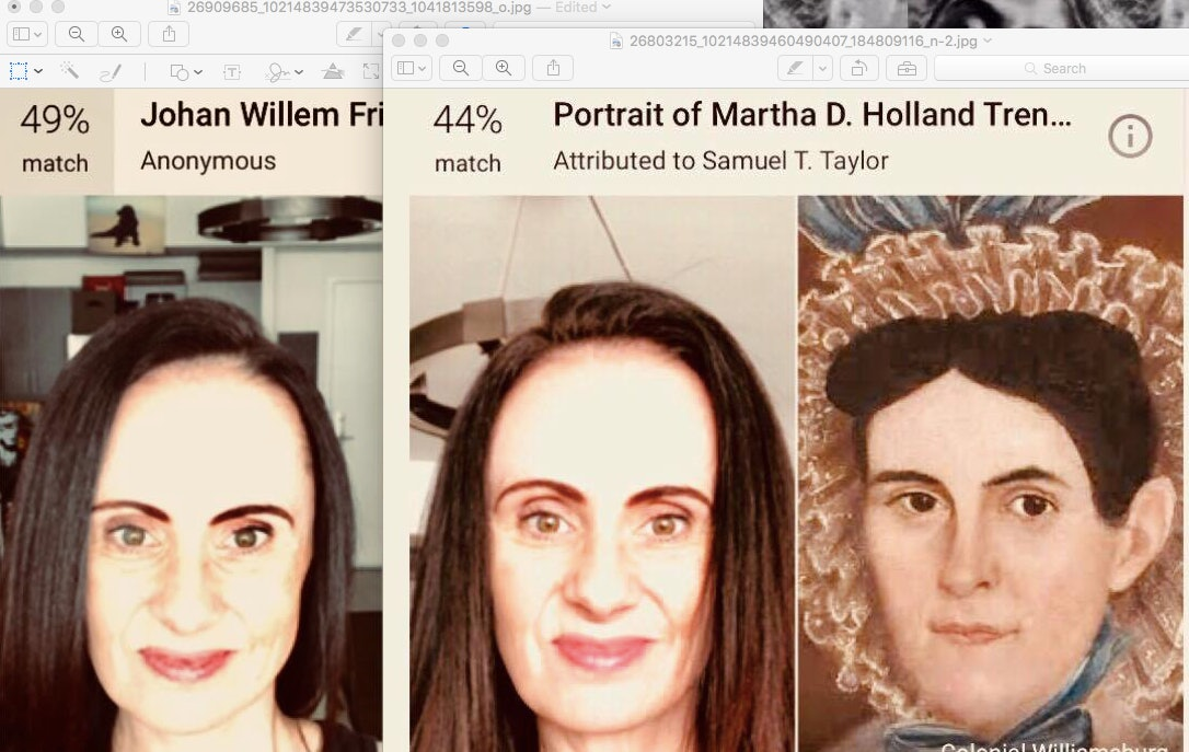 Google Arts And Culture App Painting Face