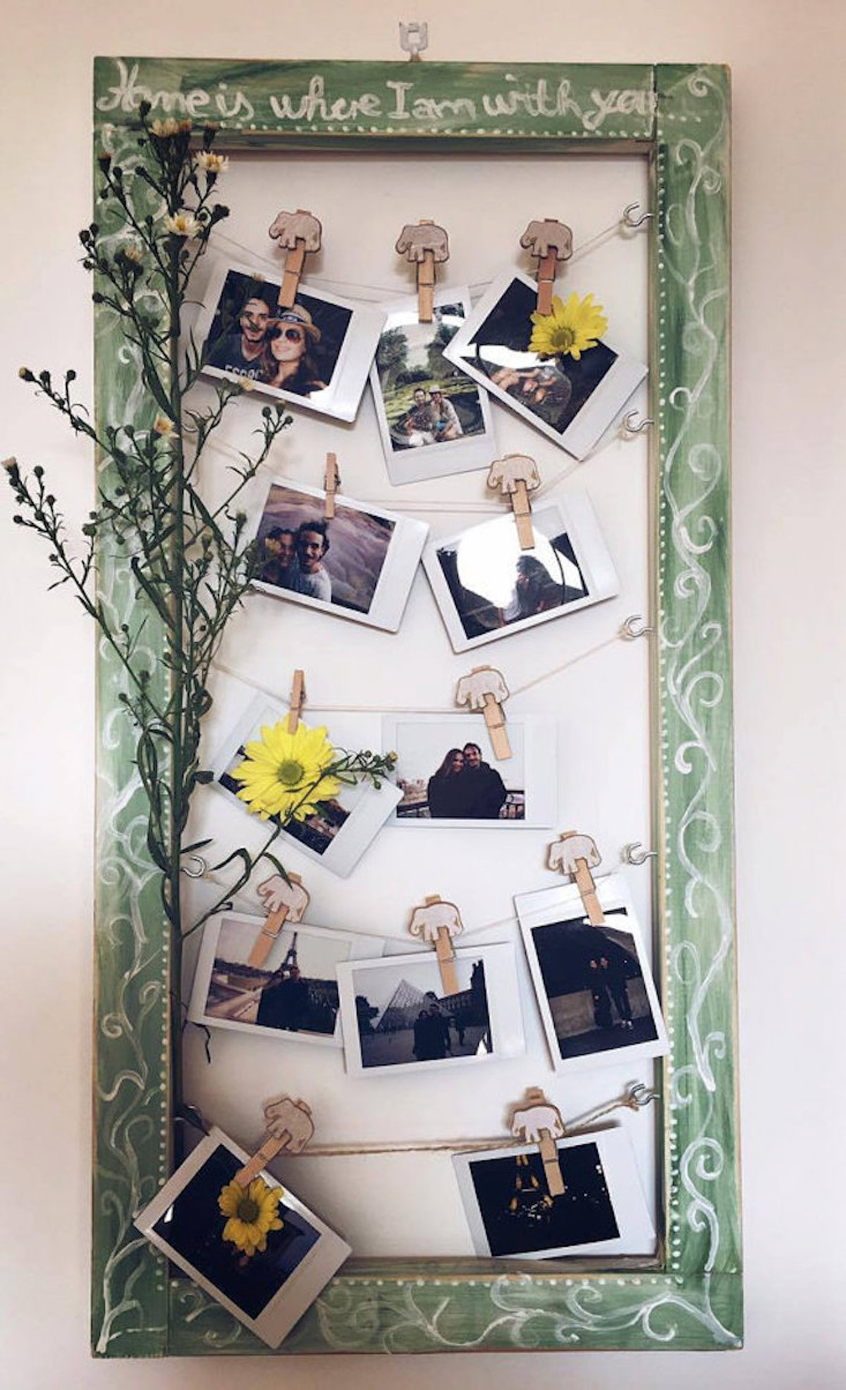 Home Is Where I Am With You - Photo Frame