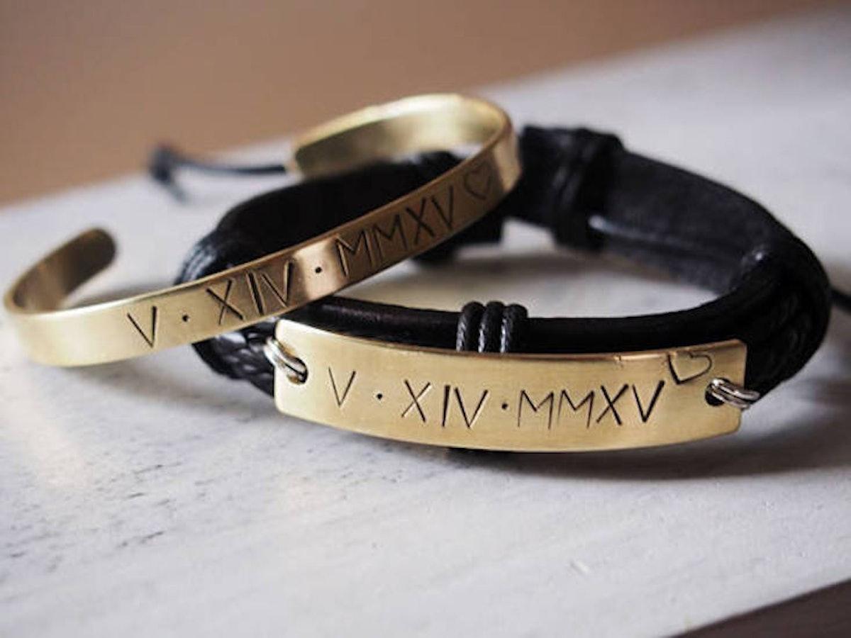 Personalized Couples Bracelet