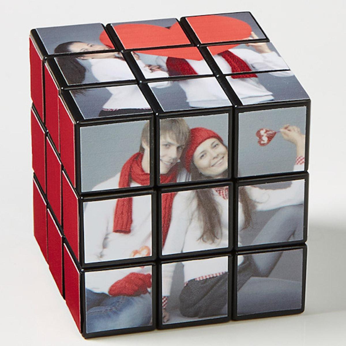 Cute Couple Photo Rubik's® Cube