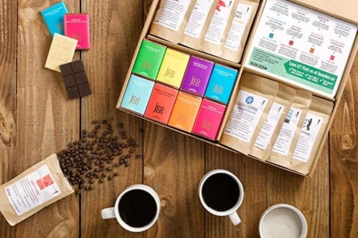 Deluxe Coffee + Chocolate Tasting Box