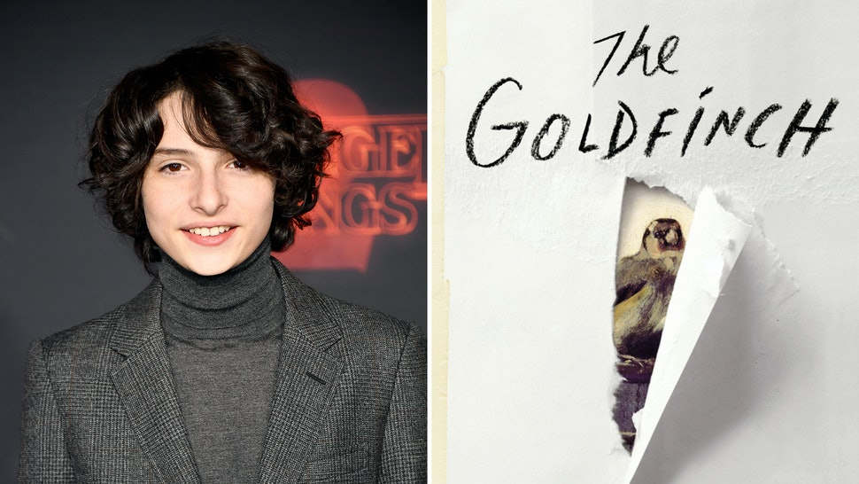 Image result for finn wolfhard the goldfinch