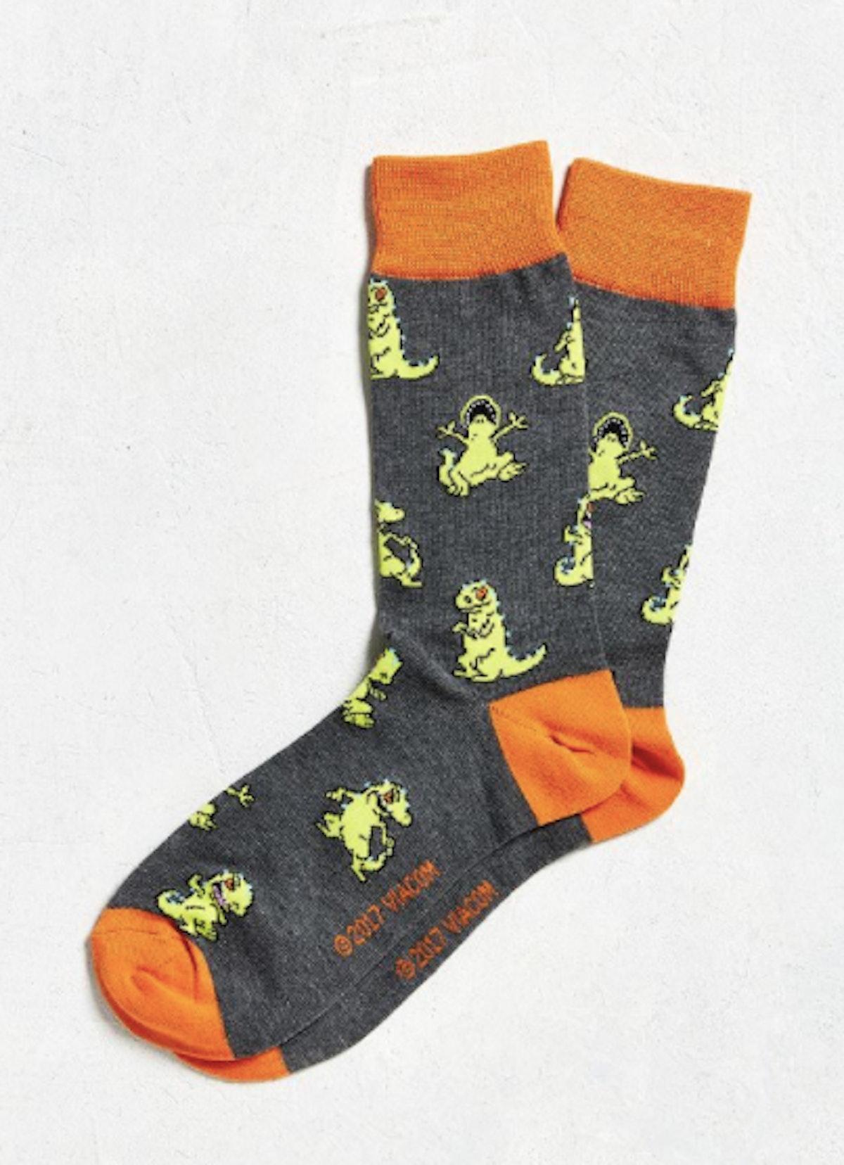 Reptar Sock