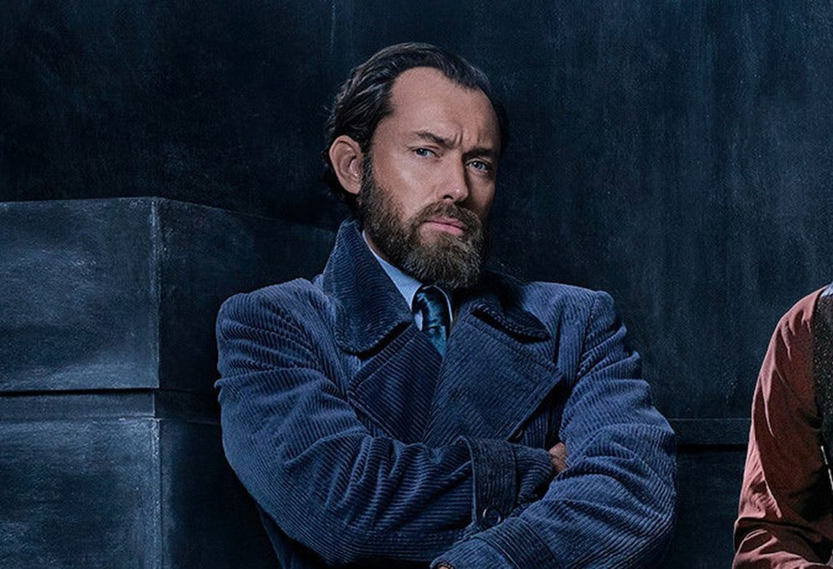 Young Dumbledore Photos From 'Fantastic Beasts 2' Are Here & Woah, No One Is Ready