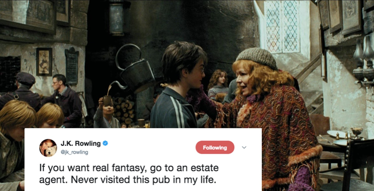 J.K. Rowling Just Debunked A Harry Potter Myth On Twitter & Some Fans Are Bummed About It