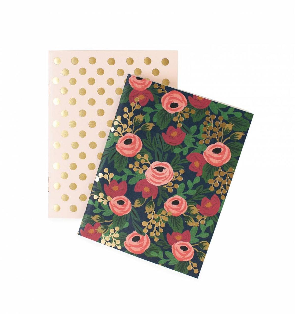 Rosa Pair of Pocket Notebooks