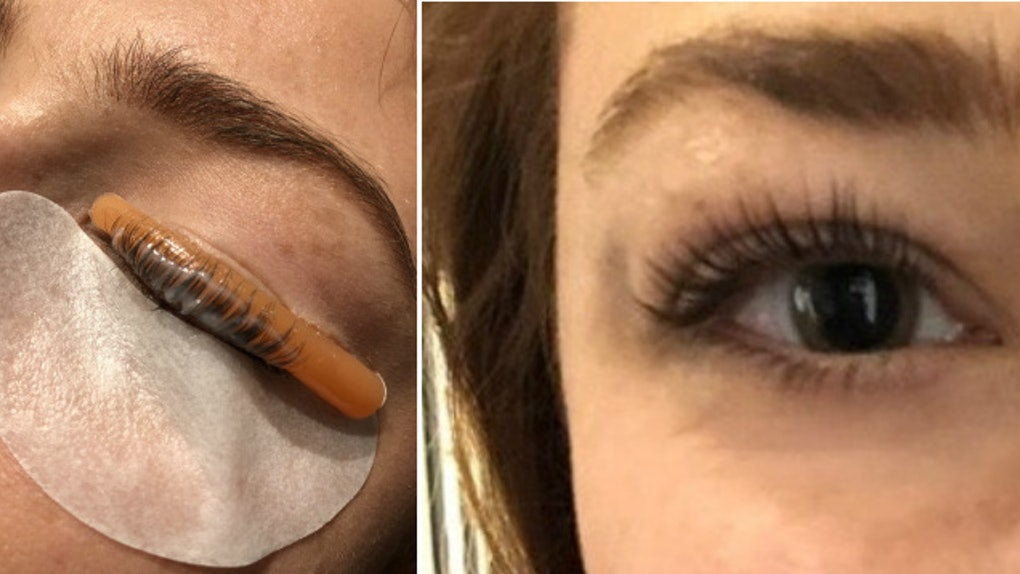 What Is A Keratin Lash Lift The Perm For Your Lashes Is Better