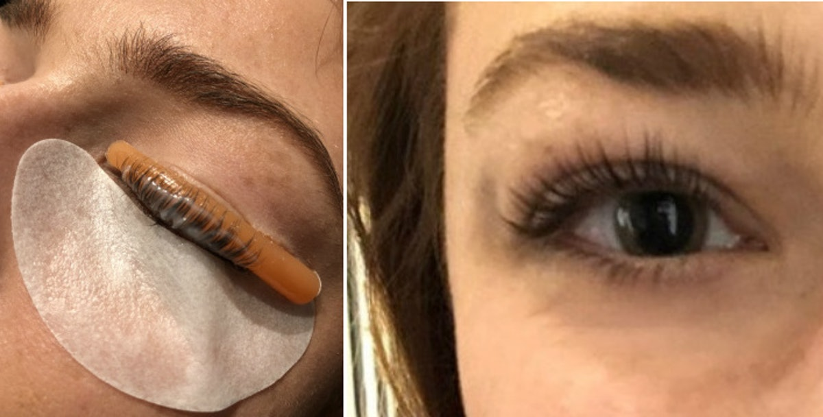 """What Is A Keratin Lash Lift? The """"Perm For Your Lashes"""" Is Better Than Extensions"""