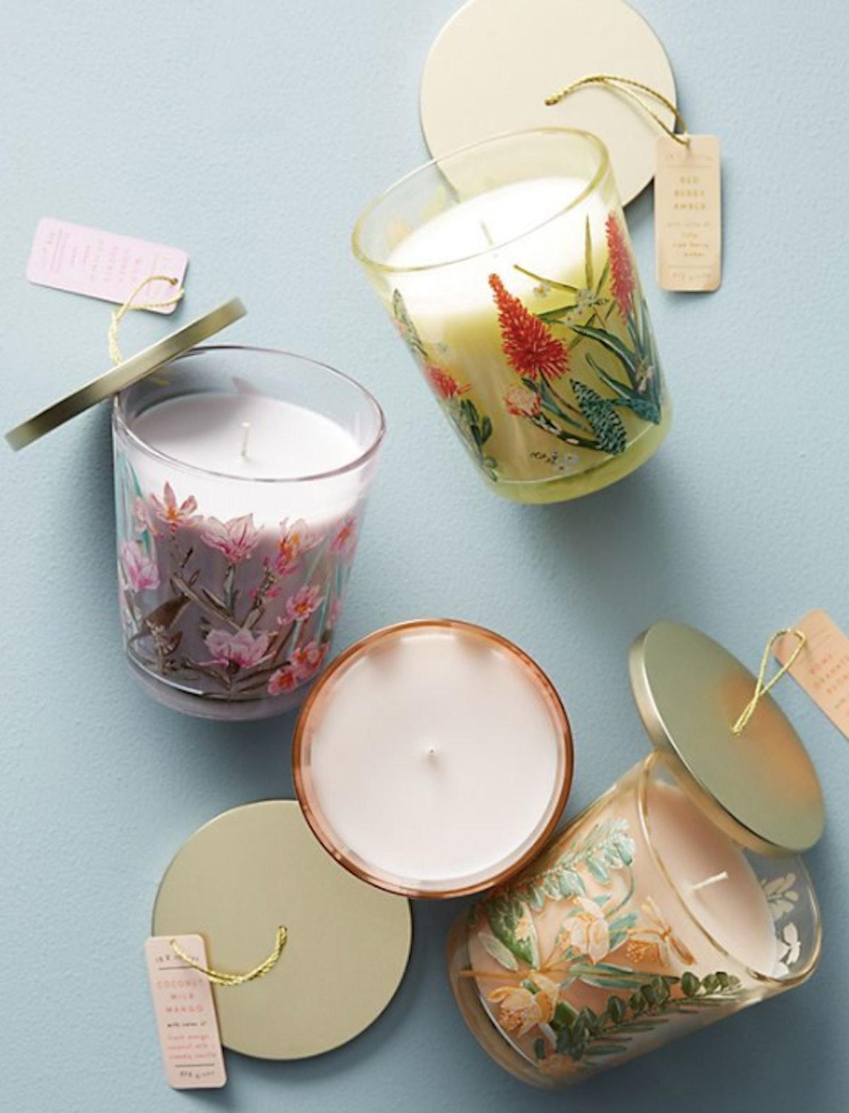 Spring's Eden Candle Jar