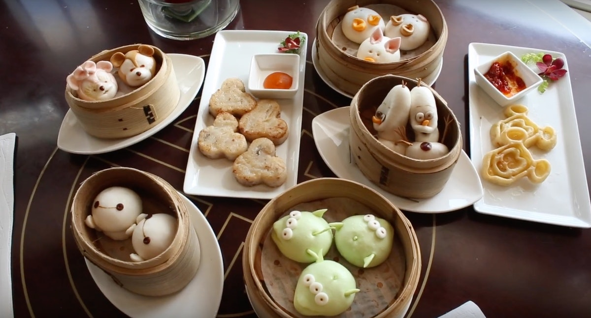 Dim Sum Photos At Hong Kong Disneyland Prove It's Almost Too Adorable To Eat