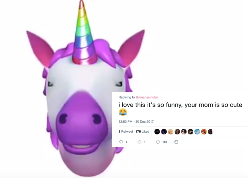 this video of a mom s coughing animoji fail she sent to her daughter will make you lol coughing animoji fail she sent