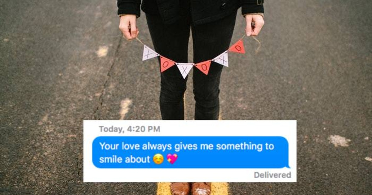 6 Texts To Send Your Partner On Valentine's Day If You Can't Be Together