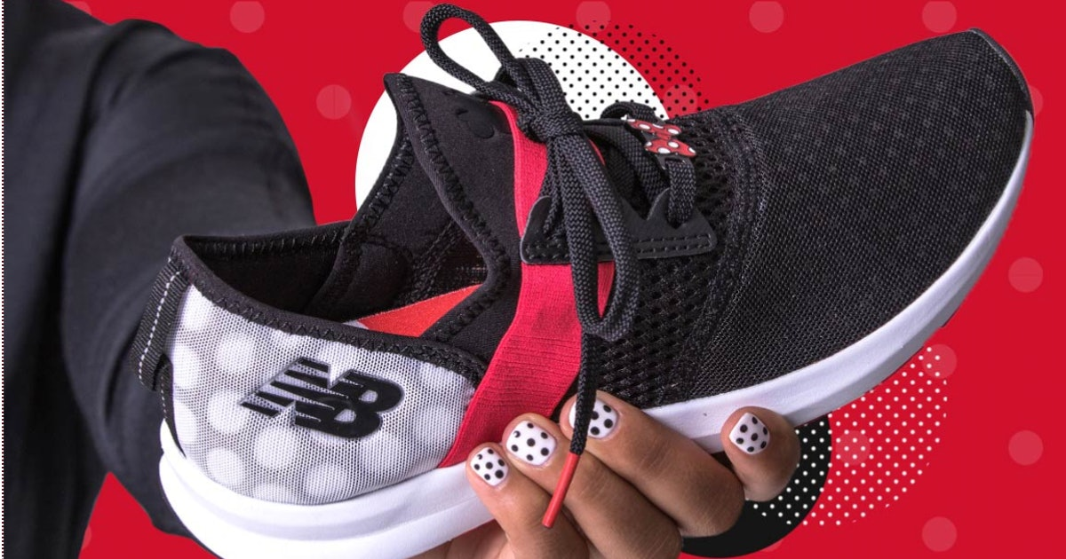 28f2af58c05 Where Can You Buy Minnie Mouse x New Balance Sneakers? The Understated Line  Is Polka Dot Perfection