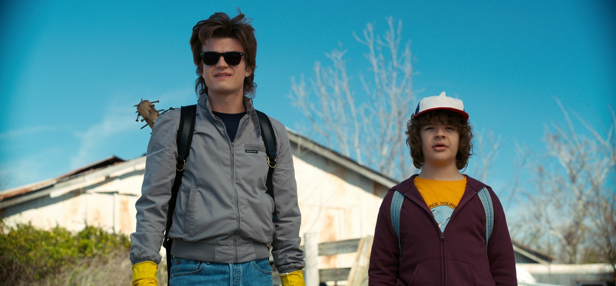 'Stranger Things' Season 3 Spoilers Reveal That The Steve & Dustin Friendship Will Continue, So Break Out The Farrah Spray