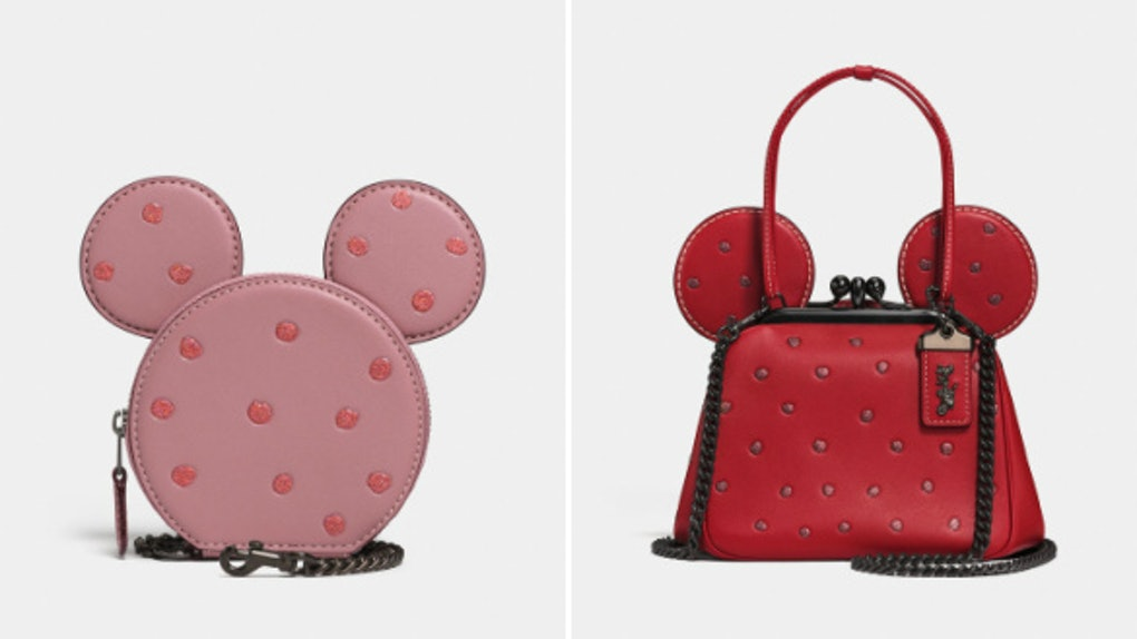 8953694f38c Coach x Disney Minnie Mouse Collaboration Is Here To Unleash Your Inner  Princess