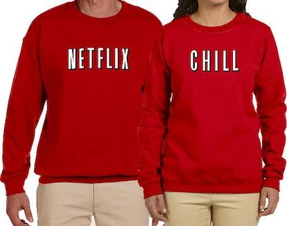 Netflix & Chill Sweatshirts