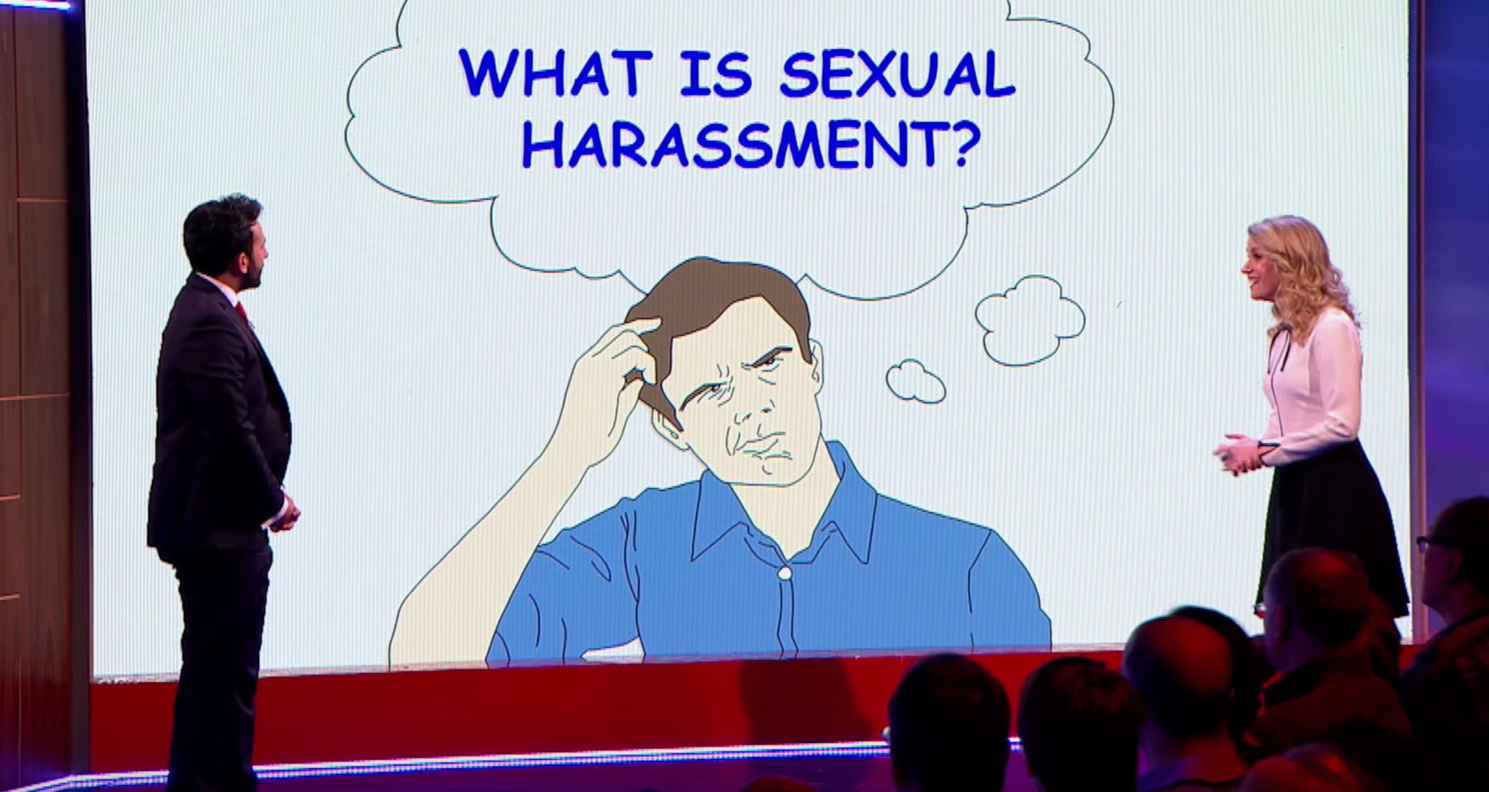 Sexual harassment form funny videos