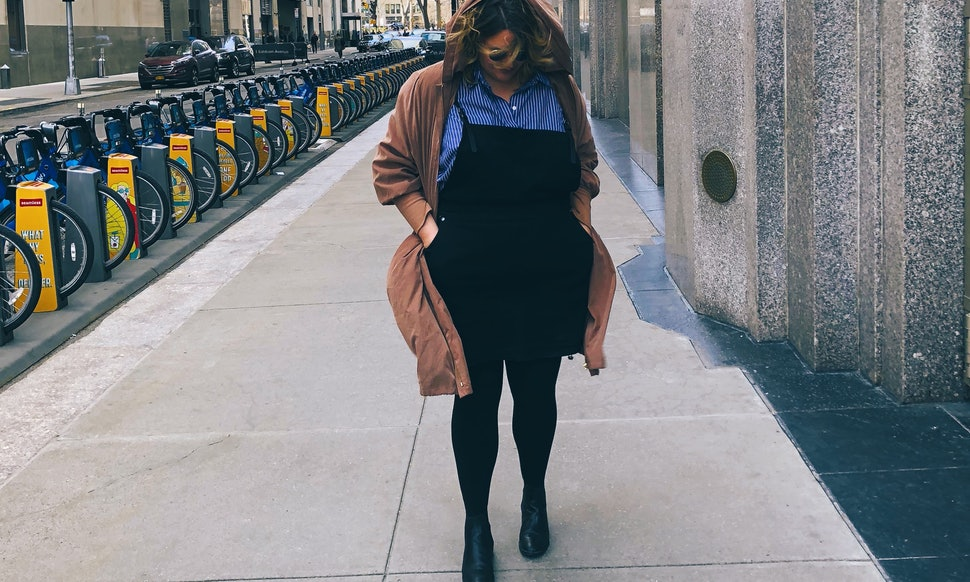 The City Chic Denim Pinafore Is The One Dress Plus Size Women Need