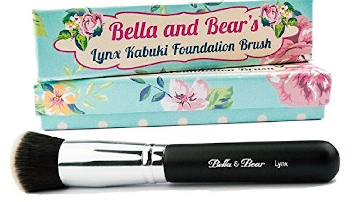 Bella and Bear's Lynx Kabuki Foundation Brush