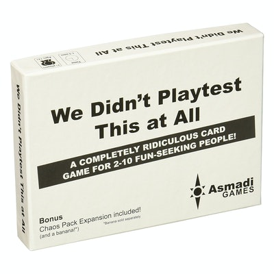 Asmadi Games, We Didn't Playtest This At All