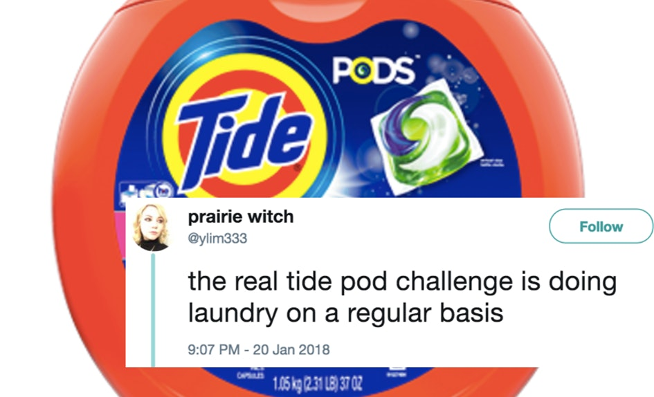 these tweets about tide pods say what we ve all been thinking about