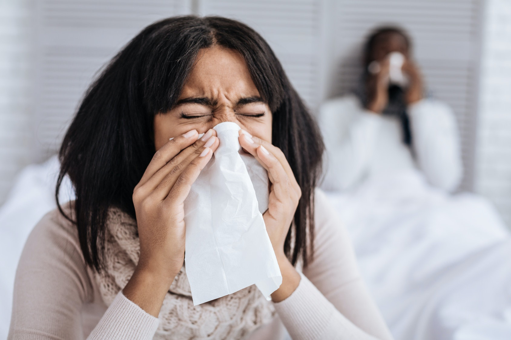 Oral sex when your partner has flu