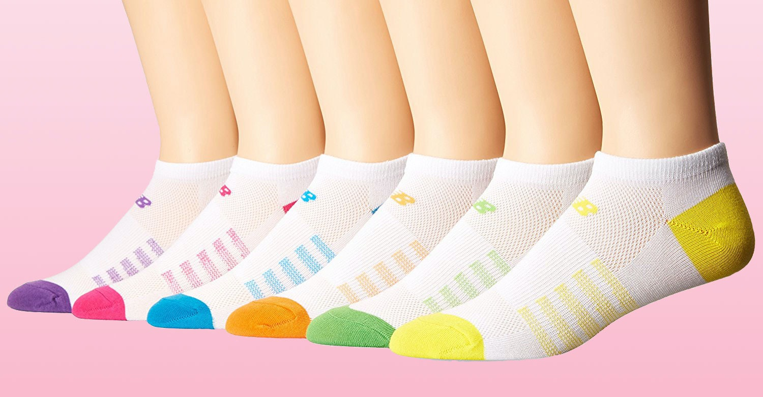 Ladies Low Cut Extra Comfort Footlets Footsies  Socks With Ball /& Arch pads kp