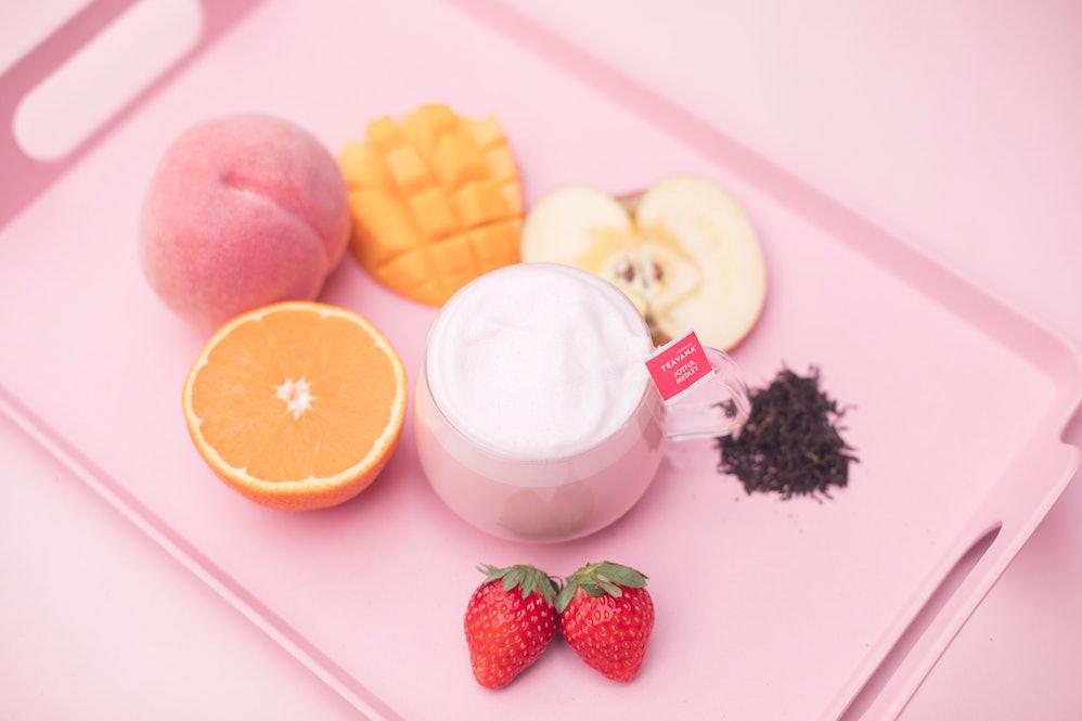 Resultado de imagen de pink latte