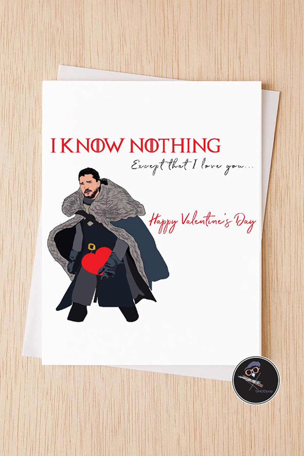 I Know Nothing Except That I Love You, GOT fans gift