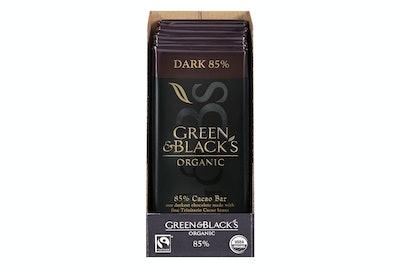 Green & Black's Organic Dark Chocolate (Pack Of 10)