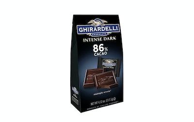 Ghirardelli Chocolate Intense Dark Squares (4 Pack)