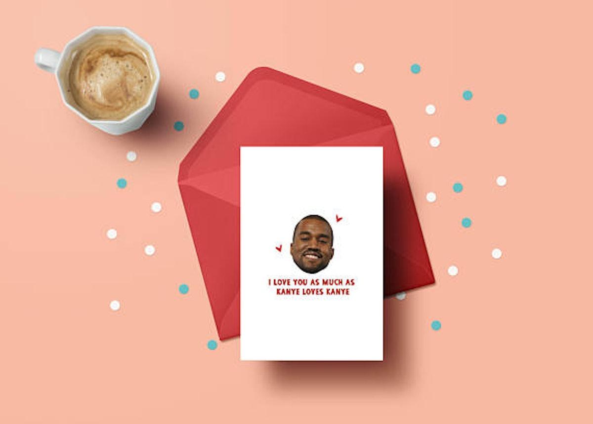 Kanye West Valentine's Card