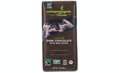 Endangered Species Panther Dark Chocolate (Pack Of 12)