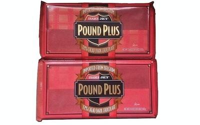 Trader Joe's Pound Plus Dark Chocolate (2 Pack)