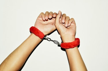 Handcuffs can be a common BDSM accessory.