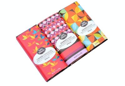 Seattle Chocolates Assorted Dark Chocolate Truffle Bars (3 Pack)