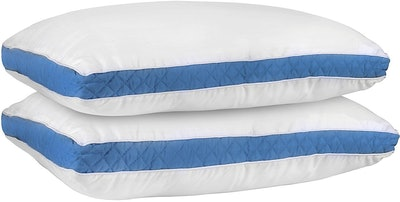 Utopia Bedding Gusseted Quilted Pillow (Set Of 2)